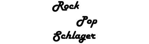 Rock, Pop, Schlager