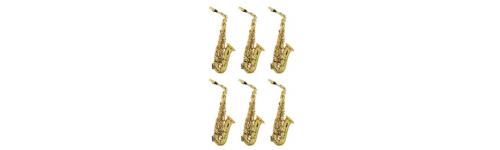 6 bis 12 Saxophone