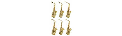 from 6 to 12 saxophones
